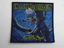 IRON MAIDEN FEAR OF THE DARK WOVEN PATCH