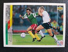 Upper Deck Cyrille Makanaky Fußball WM 94 Nr.189 Trading Card