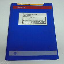 Reparatiebrochure VW Polo 6N Directinspuit- en voorgloeisysteem ab 1995