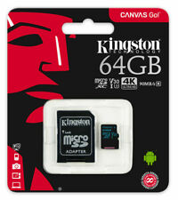 64GB Micro SD XC For Go Pro Hero 7 4K Action Camera Memory Card U3