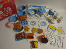 Toy Dishes Friendly Helpers 62 Piece Country Kitchen Set by Chilton Globe