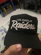 Raiders Vintagecap double Line script By Sport Specialties 1st gen By Costa Rica