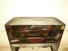 HOT WHEELS ELITE FERRARI 599 GTO - MICHAEL MANN - BROWN 1:18 - VERY GOOD IN BOX