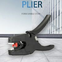 Pliers Automatic Wire Stripper Terminal Crimper Hand Tools Black Cable Cutter