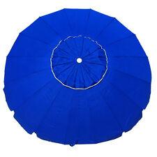 SHELTA MANLY 220Cm Beach Shade Umbrella Tilt 98% UV UPF50+ ROYAL BLUE