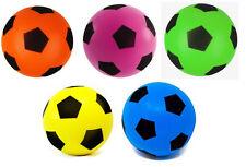 Large Foam Sponge Football Ball Soft Baby Indoor Outdoor Soccer Toy Game Garden