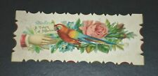 1880's VICTORIAN CALLING CARD INVITATION ANNOUNCEMENT CARDS EMBOSSED LOT #3