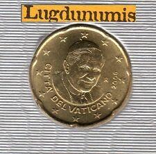 Vatican 2006 - 20 Centimes D'Euro - 85 000 exemplaires Provenant du BU RARE