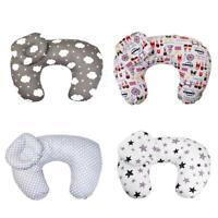 2pcs Baby Newborn Nursing Pillow Maternity U-Shape Cotton Breastfeeding Cushion