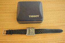 VINTAGE TISSOT SEASTAR T12 BLUE DAY DATE DIAL SIL CASE CHRONOMETER WATCH BOX SET