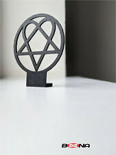 More details for decorative him his infernal majesty - heartagram logo self-standing display