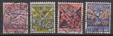 NVPH 208 - 211 gebruikt (Kinderzegels 1927)