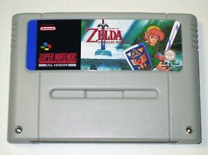 *PAL Version* THE LEGEND OF ZELDA PARALLEL WORLDS For Super Nintendo SNES