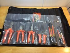 Salisbury Tk9 Insulated 9 Piece Electricians Tool Kit Pliers Screwdrivers