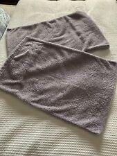 Next Lilac Purple Fleece Housewife Pillowcase X 2