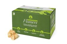 Flamers Natural Wood Firelighters 200 Pack - Barbeques, Log Burners, Camp Fires