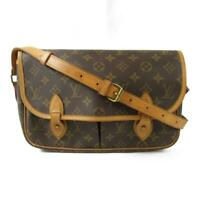 LOUIS VUITTON Gibeciere MM crossbody shoulder bag M42247 Monogram canvas Used LV