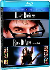 RISKY BUSINESS + ROCK OF AGES BLU RAY 2 PELICULAS NUEVO ( SIN ABRIR ) CRUISE