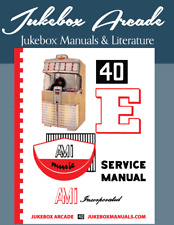 New! Ami Model E 40 Service Manual & Parts Guide with Troubleshooting in Color