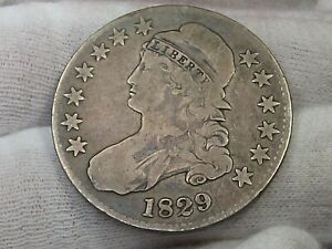 1829 Capped Bust Half Dollar. #19