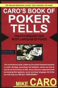 Caro's Book of Poker Tells: The Psychology and Body L... by Caro, Mike Paperback