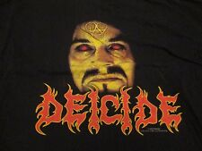 2000 American Death Metal Band DEICIDE Concert Tour (XL) T-Shirt