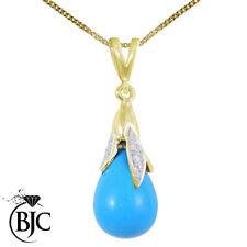 Turquoise Beauty 18k Fine Necklaces & Pendants