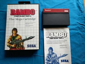 Sega Master System. Rambo First Blood Part II.