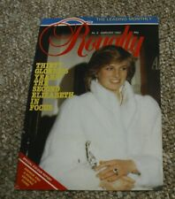 Royalty Monthly Magazine Issue No 8 February 1982. Princess Diana