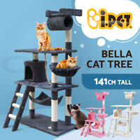 i.Pet Cat Tree Trees Scratching Post Scratcher Tower Condo House 141cm