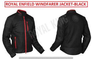 "ROYAL ENFIELD ""WINDFARER RIDING JACKET"" BLACK"