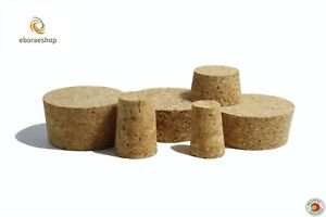 Tapered Cork Bung Bungs Stopper Bottle Jar carboy Cap home brew crafts arts many