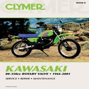 CLYMER REPAIR MANUAL PART# M350-9 Kawasaki 80-3500 Rotary Vlv 70-0350 27-M350