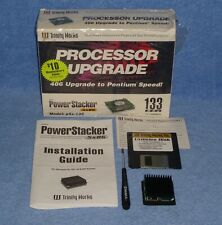 Trinity Works Power Stacker Pentium Overdrive CPU For 486 Socket 3 (Tested, MIB)