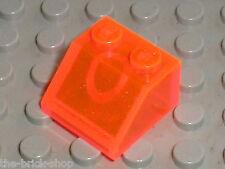 LEGO TrNeonOrange slope brick ref 3039 /Set 4611 6776 6713 4758 Hogwarts Express