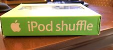 Apple ipod shuffle 1st generation NEW( OPEN) Box 512 MB with CD disc AND BOOKLET