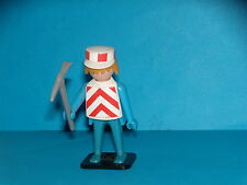 PLAYMOBIL - OUVRIER DE CHANTIER - PROTOTYPE - 1974 - QUICKLY