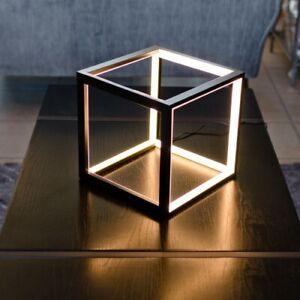 LED Black Box Table Lamp/Light - Very Retro in Design