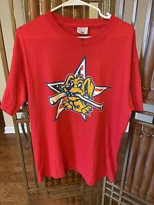 NWOT Charleston RiverDogs Minor League  Stars & Stripes T-Shirt Large USA