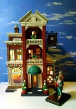 Dept 56 Christmas in the City Downtown Radios & Phonographs Plus New Phonograph!