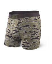 NEW SAXX ULTRA Mens Boxer Fly Underwear TIGER CAMO | SMALL 30-32 | SXBB30F TIC