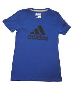 Adidas Womens T-shirt Go To Performance Tee Badge Of Sport Logo Shirt