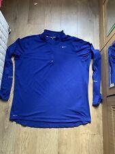 Nike Dri Fit T Shirt Size Extra Large Mens Long Sleeve Running