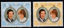 Wedding Charles and Diana postfris 1981 MNH Jersey 262-263 (W032)