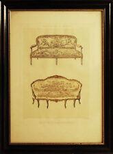 CANAPES- DIVANI - ARREDAMENTO - Encyclopedie du Meuble -  1800