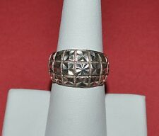 BEVERLY HILLS SILVER STERLING SILVER RING SIZE 7.5