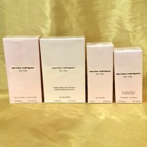 Narciso Rodriguez for Her Eau de Toilette CHOOSE SIZE Brand New Products!