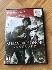 Medal of Honor: Vanguard (Sony PlayStation 2, 2007) PS2 H1