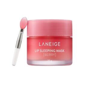 Laneige Lip Sleeping Pack Berry 20g Moisture Lip Balm Scrub Moist Exfoliate Care