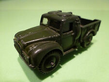 DINKY TOYS 641 1-TON CARGO TRUCK - ARMY GREEN 1:50? - GOOD - MILITARY
